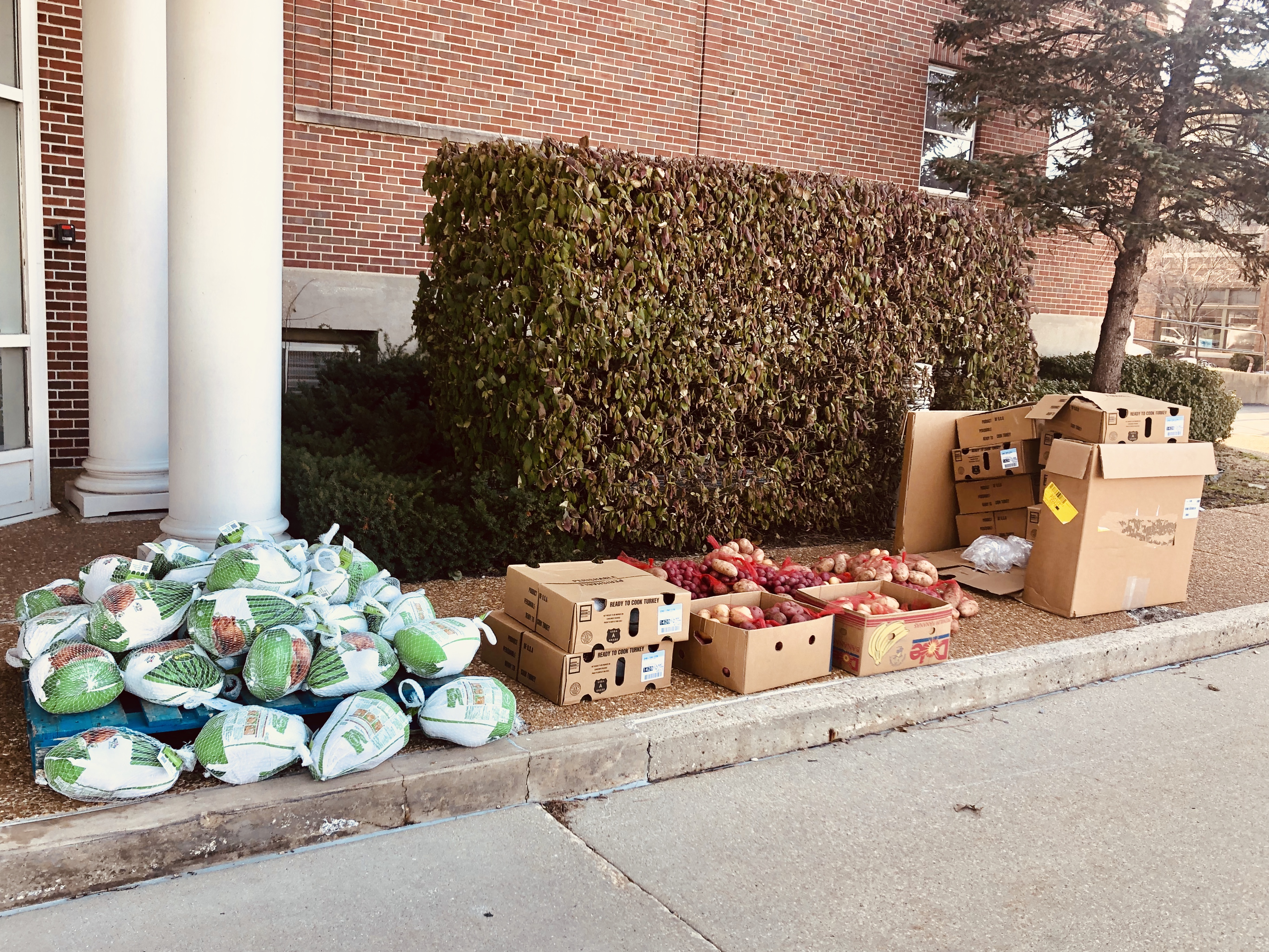 Thanksgiving Food Distribution
